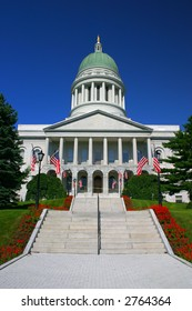 Maine State House at Augusta, Maine