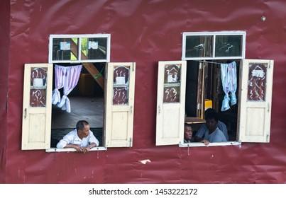 Imágenes, fotos de stock y vectores sobre Burmese Traditional House