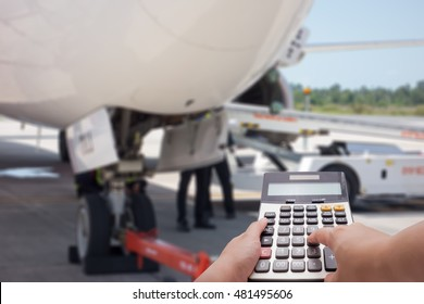 The maintenance cost of air plane as background