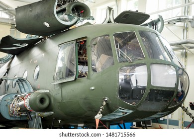 Maintenance and modernization old soviet helicopters