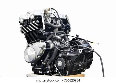 Maintenance of motorcycle engine