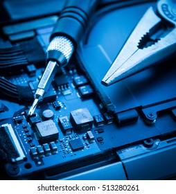 Maintenance service computer repair technician