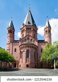 Mainz Cathedral, Rhineland-Palatinate, Germany