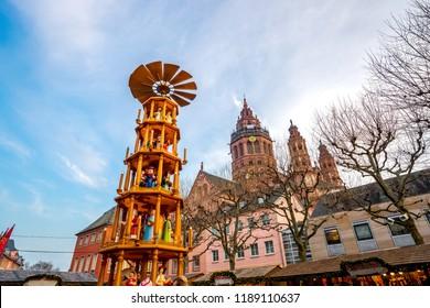 Mainz, Christmas Market, Germany