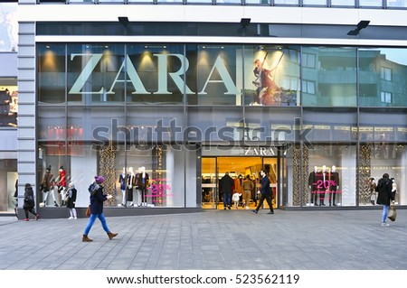 561d90ae80db25 MAINZ GERMANY NOV 25 ZARA Store Stock Photo (Edit Now) 523562119 ...