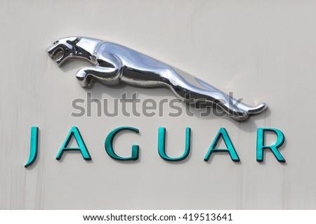 Mainzgermanymay 12 Jaguar Logo On May 12 Stock Photo Edit Now