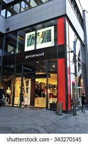 MAINZ,GERMANY-NOV 18:PROMOD fashion store on November 18,2015 in Mainz,Germany.
