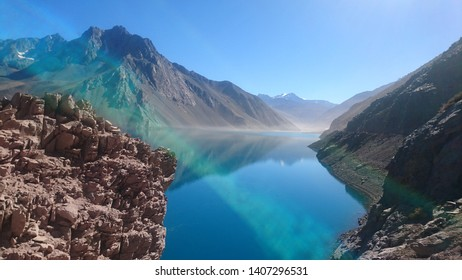 Maipo drawer and el Yeso in santiago chile