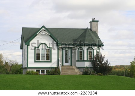 Maison Canadienne Stock Photo (Edit Now) 2269234 - Shutterstock