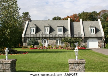 Maison Canadienne Stock Photo (Edit Now) 2269255 - Shutterstock
