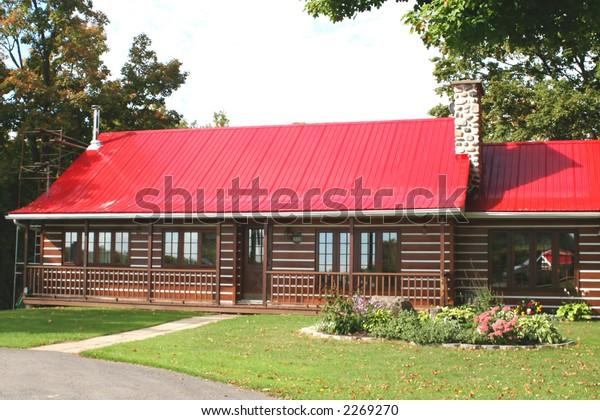 Maison Canadienne Stock Photo (Edit Now) 2269270
