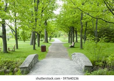 Maisonneuve Park - Montreal - Canada