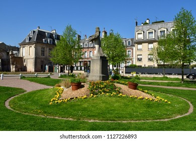 Maisons Laffitte; France - april 20 2018 : the city in spring