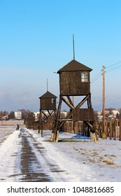 Majdanek concentration camp memorial complex in Lublin, Poland
