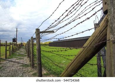 Majdanek in Lublin. Death camp