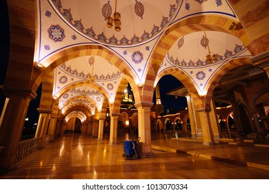 majestic architecture of the Arab Moslem mosque