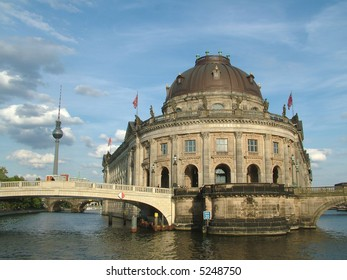 The Majestic Bode Museum on the Spree River in Berlin