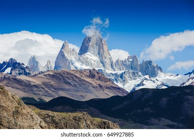 Majestic Fitz Roy Moutain, Patagonia, El Chalten, Argentina