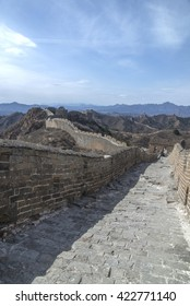 Majestic Great Wall of China - Shutterstock ID 422771140