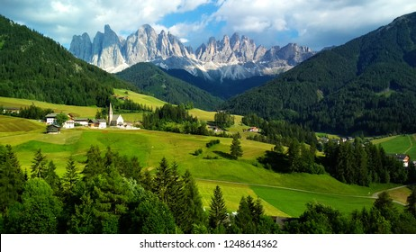 Majestic landscape of Antorno lake with famous Dolomites mountain peak of Tre Cime di Lavaredo in background in Eastern Dolomites, Italy Europe. Stunning nature scenery and scenic travel destination