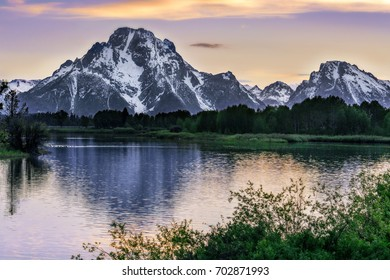 Majestic Mountain by the Lake