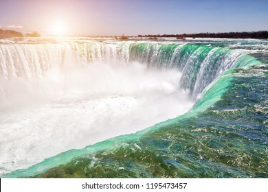 Majestic Niagara Waterfall