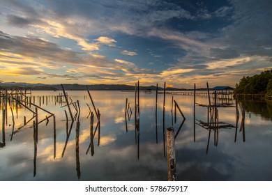 Majestic reflection at Sabah, Borneo