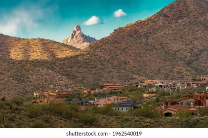Majestic views of the McDowell Mountains in Scottsdale, AZ