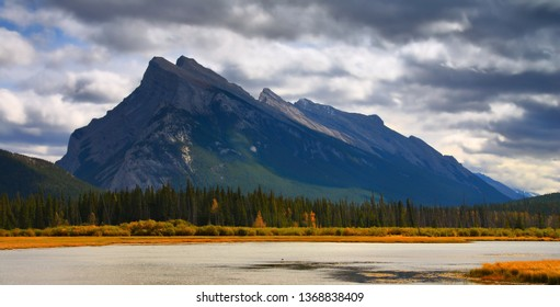 The majesty of Mt. Rundle