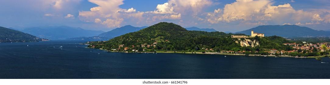 Major lake panoramic