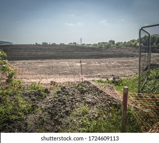 Major new industrial development on regenerated land - site of former chemical works, North of England.