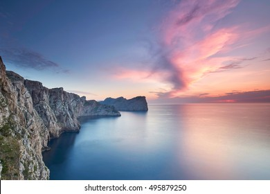 Majorca Formentor Cape in Majorca Balearic island of spain