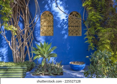 Majorelle Gardens in Marrakesh, Morocco
