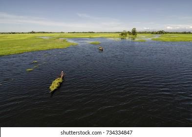 Majuli, Assam, India  Worlds Biggest River Island.