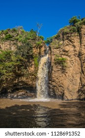 Makalia waterfalls in Lake Nakuru