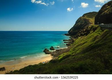makapu'u beach in oahu hawaii