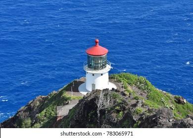 Makapu'u Lighthouse. Hawaii, Oahu
