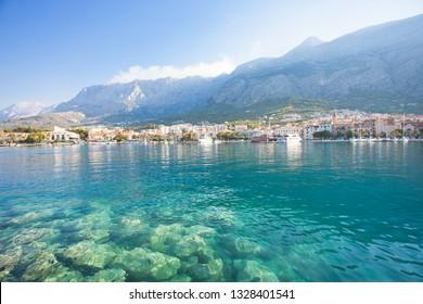 Makarska, Dalmatia, Croatia, Europe - Nature is beautiful at the coastline of Makarska