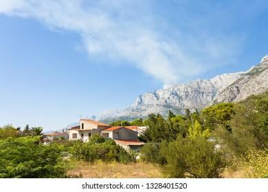Makarska, Dalmatia, Croatia, Europe - A traditional farmhouse within the Riviera of Makarska