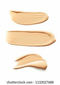 Make up bb cc cream or foundation smudge