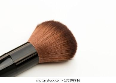Make up brush isolated.