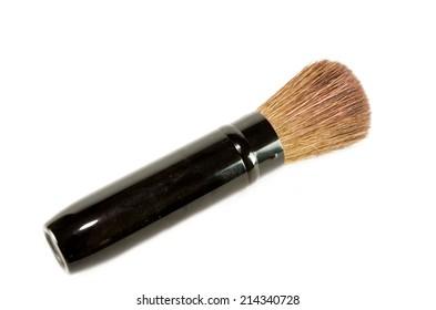 Make up brush isolated on the white