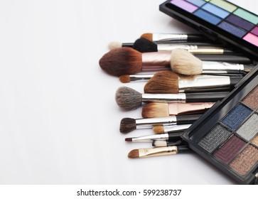 Make up brushed