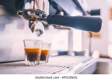 make espresso coffee