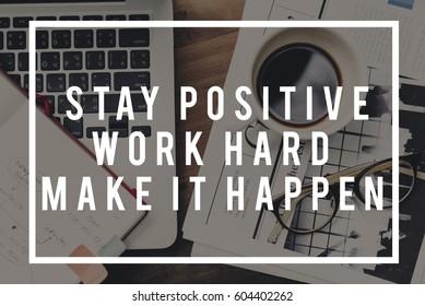 Make it Happen Action Impact Optimism Progress