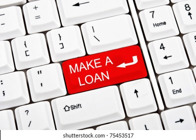 Make a loan key in place of enter key