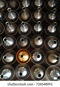 Make merit in temple thailand