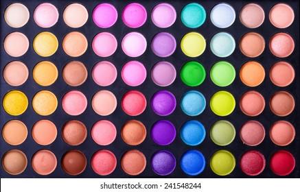 Make up pallet texture