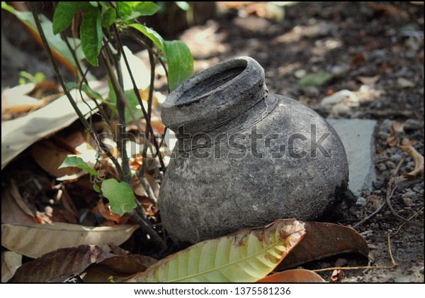 Make Water Cooler Earthen Pot Placed Stock Photo (Edit Now) 1375581236