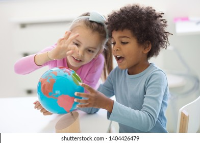 Make the world a better place. Children in preschool.